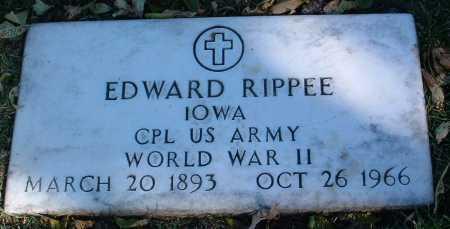 RIPPEE, EDWARD - Yavapai County, Arizona | EDWARD RIPPEE - Arizona Gravestone Photos