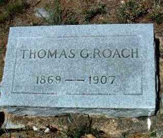 ROACH, THOMAS GIDEON - Yavapai County, Arizona   THOMAS GIDEON ROACH - Arizona Gravestone Photos