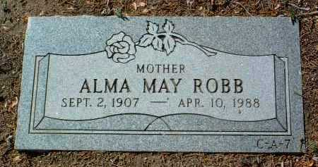 WOODS, ALMA MAY - Yavapai County, Arizona | ALMA MAY WOODS - Arizona Gravestone Photos