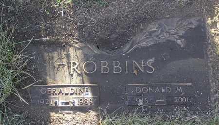 ROBBINS, DONALD M. - Yavapai County, Arizona   DONALD M. ROBBINS - Arizona Gravestone Photos