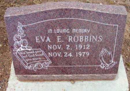 ROBBINS, EVA E. - Yavapai County, Arizona | EVA E. ROBBINS - Arizona Gravestone Photos