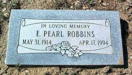 ROBBINS, EMMA PEARL - Yavapai County, Arizona   EMMA PEARL ROBBINS - Arizona Gravestone Photos