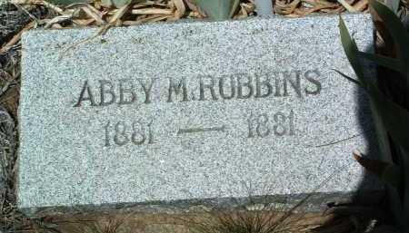 ROBBINS, ABBY - Yavapai County, Arizona   ABBY ROBBINS - Arizona Gravestone Photos