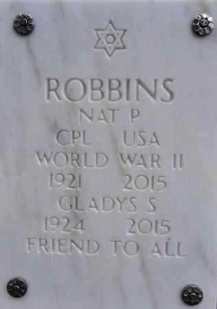ROBBINS, NAT P. - Yavapai County, Arizona | NAT P. ROBBINS - Arizona Gravestone Photos