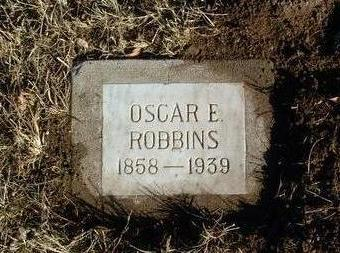 ROBBINS, OSCAR E. - Yavapai County, Arizona   OSCAR E. ROBBINS - Arizona Gravestone Photos