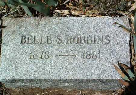 ROBBINS, SARAH ISABELLE - Yavapai County, Arizona   SARAH ISABELLE ROBBINS - Arizona Gravestone Photos
