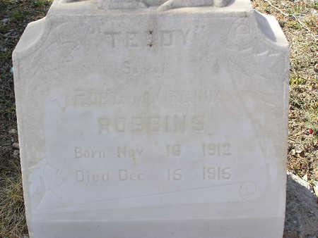 ROBBINS, THEODORE EMMITT - Yavapai County, Arizona   THEODORE EMMITT ROBBINS - Arizona Gravestone Photos