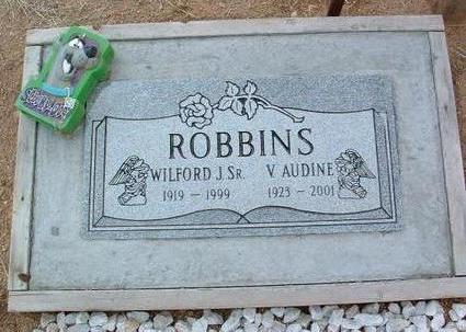 ROBBINS, V. AUDINE - Yavapai County, Arizona   V. AUDINE ROBBINS - Arizona Gravestone Photos