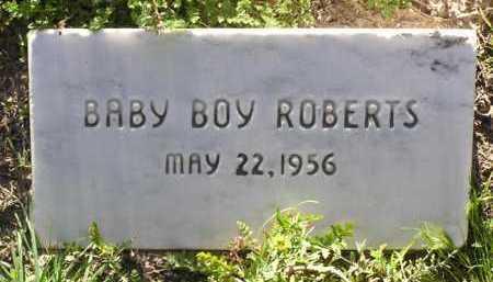 ROBERTS, BABY BOY - Yavapai County, Arizona   BABY BOY ROBERTS - Arizona Gravestone Photos