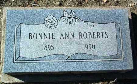 ROBERTS, BONNIE ANN - Yavapai County, Arizona   BONNIE ANN ROBERTS - Arizona Gravestone Photos