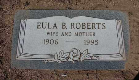 ROBERTS, BERTHA EULA - Yavapai County, Arizona | BERTHA EULA ROBERTS - Arizona Gravestone Photos