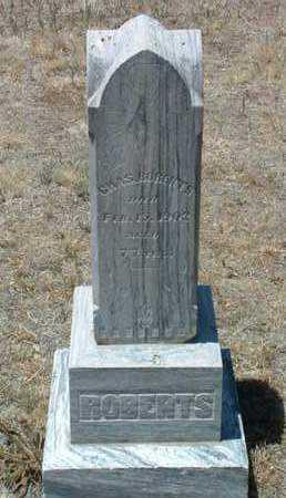 ROBERTS, CHARLES - Yavapai County, Arizona | CHARLES ROBERTS - Arizona Gravestone Photos
