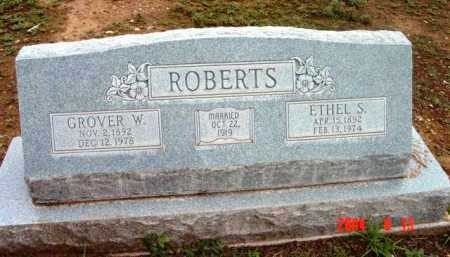 ROBERTS, GROVER WALTER - Yavapai County, Arizona | GROVER WALTER ROBERTS - Arizona Gravestone Photos