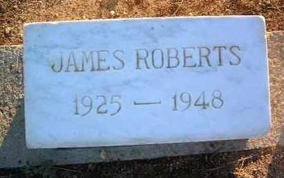 ROBERTS, JAMES ALBERT - Yavapai County, Arizona   JAMES ALBERT ROBERTS - Arizona Gravestone Photos