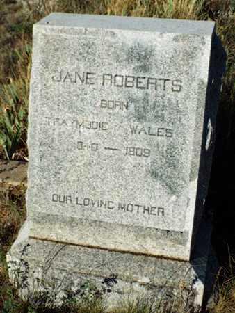 ROBERTS, JANE (JENNY) - Yavapai County, Arizona | JANE (JENNY) ROBERTS - Arizona Gravestone Photos