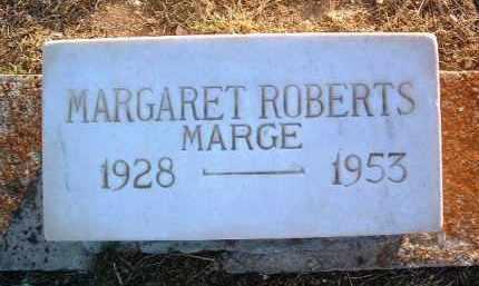 ROBERTS, MARGARET (MARGE) - Yavapai County, Arizona | MARGARET (MARGE) ROBERTS - Arizona Gravestone Photos