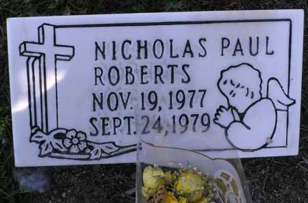 ROBERTS, NICHOLAS PAUL - Yavapai County, Arizona   NICHOLAS PAUL ROBERTS - Arizona Gravestone Photos