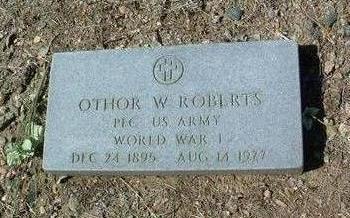 ROBERTS, OTHOR WILBORN - Yavapai County, Arizona | OTHOR WILBORN ROBERTS - Arizona Gravestone Photos