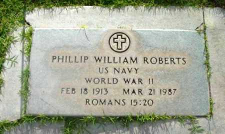 ROBERTS, PHILLIP WILLIAM - Yavapai County, Arizona | PHILLIP WILLIAM ROBERTS - Arizona Gravestone Photos