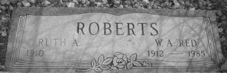 ROBERTS, WILLIAM A. (RED) - Yavapai County, Arizona | WILLIAM A. (RED) ROBERTS - Arizona Gravestone Photos