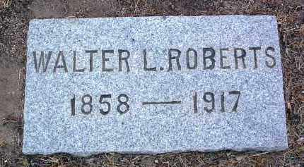 ROBERTS, WALTER LEWIS - Yavapai County, Arizona | WALTER LEWIS ROBERTS - Arizona Gravestone Photos