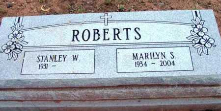 ROBERTS, MARILYN S. - Yavapai County, Arizona | MARILYN S. ROBERTS - Arizona Gravestone Photos