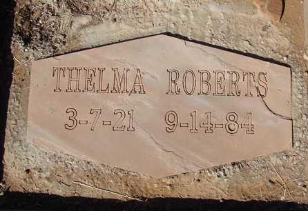 ROBERTS, THELMA ONITA - Yavapai County, Arizona | THELMA ONITA ROBERTS - Arizona Gravestone Photos