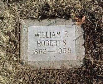 ROBERTS, WILLIAM FULTON - Yavapai County, Arizona | WILLIAM FULTON ROBERTS - Arizona Gravestone Photos
