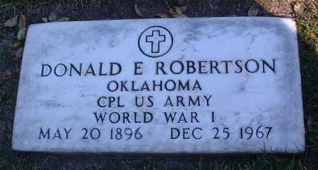 ROBERTSON, DONALD E. - Yavapai County, Arizona | DONALD E. ROBERTSON - Arizona Gravestone Photos