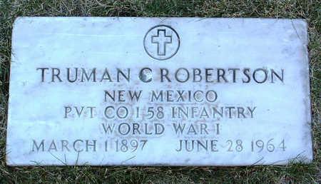 ROBERTSON, TRUMAN C. - Yavapai County, Arizona | TRUMAN C. ROBERTSON - Arizona Gravestone Photos