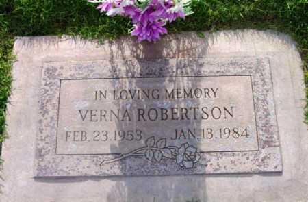 KRUEGER ROBERTSON, VERNA - Yavapai County, Arizona | VERNA KRUEGER ROBERTSON - Arizona Gravestone Photos