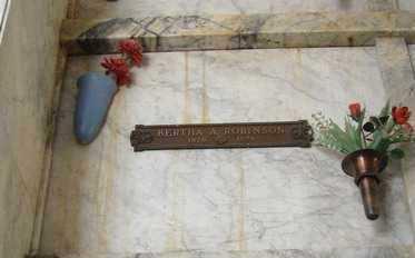 ROBINSON, BERTHA A. - Yavapai County, Arizona   BERTHA A. ROBINSON - Arizona Gravestone Photos