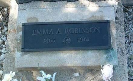 ROBINSON, EMMA ANGELINE - Yavapai County, Arizona | EMMA ANGELINE ROBINSON - Arizona Gravestone Photos