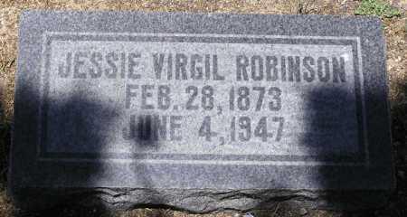 ROBINSON, JESSIE VIRGIL - Yavapai County, Arizona   JESSIE VIRGIL ROBINSON - Arizona Gravestone Photos