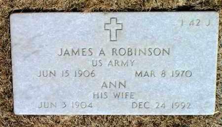 WEITZEL ROBINSON, ANN - Yavapai County, Arizona | ANN WEITZEL ROBINSON - Arizona Gravestone Photos