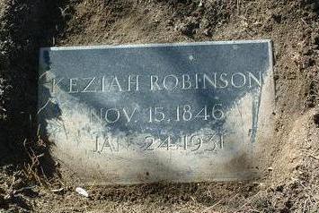 ROBINSON, KEZIAH - Yavapai County, Arizona | KEZIAH ROBINSON - Arizona Gravestone Photos