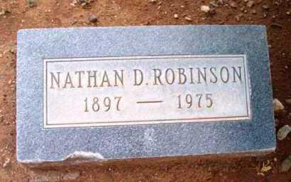 ROBINSON, NATHAN D. - Yavapai County, Arizona | NATHAN D. ROBINSON - Arizona Gravestone Photos
