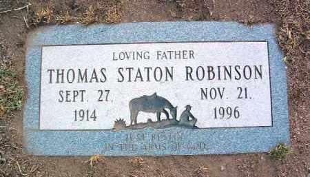 ROBINSON, THOMAS STATON - Yavapai County, Arizona | THOMAS STATON ROBINSON - Arizona Gravestone Photos