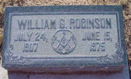 ROBINSON, WILLIAM GLENN - Yavapai County, Arizona | WILLIAM GLENN ROBINSON - Arizona Gravestone Photos
