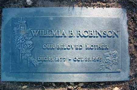 ROBINSON, WILLMIA B. - Yavapai County, Arizona | WILLMIA B. ROBINSON - Arizona Gravestone Photos
