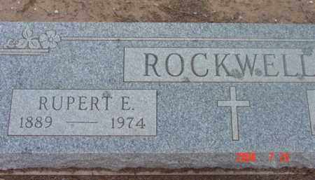 ROCKWELL, RUPERT E. - Yavapai County, Arizona   RUPERT E. ROCKWELL - Arizona Gravestone Photos