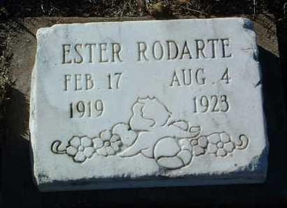 RODARTE, ESTER - Yavapai County, Arizona | ESTER RODARTE - Arizona Gravestone Photos
