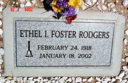 FOSTER RODGERS, ETHEL I. - Yavapai County, Arizona | ETHEL I. FOSTER RODGERS - Arizona Gravestone Photos