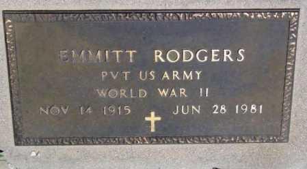 RODGERS, EMMITT - Yavapai County, Arizona   EMMITT RODGERS - Arizona Gravestone Photos