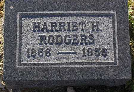 RODGERS, HARRIET H. - Yavapai County, Arizona | HARRIET H. RODGERS - Arizona Gravestone Photos