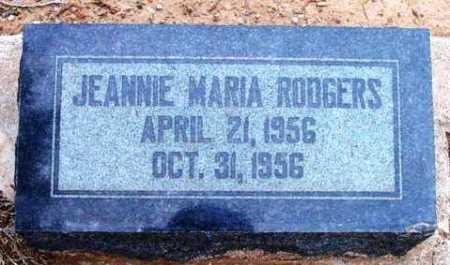 RODGERS, JEANNIE MARIA - Yavapai County, Arizona | JEANNIE MARIA RODGERS - Arizona Gravestone Photos