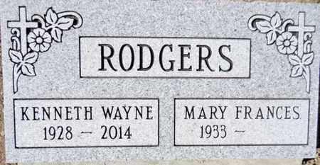 RODGERS, MARY FRANCES - Yavapai County, Arizona | MARY FRANCES RODGERS - Arizona Gravestone Photos