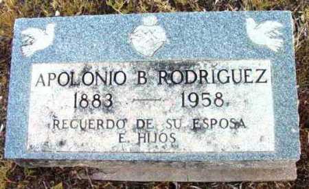 RODRIGUEZ, APOLONIO B. - Yavapai County, Arizona | APOLONIO B. RODRIGUEZ - Arizona Gravestone Photos
