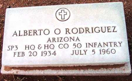 RODRIGUEZ, ALBERTO O. - Yavapai County, Arizona   ALBERTO O. RODRIGUEZ - Arizona Gravestone Photos