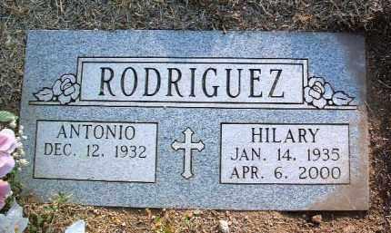 RODRIGUEZ, ANTONIO - Yavapai County, Arizona | ANTONIO RODRIGUEZ - Arizona Gravestone Photos